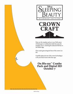 Princes Aurora Crown Craft Stencil
