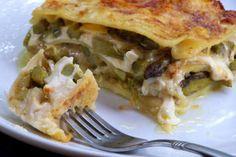 White Asparagus Lasagna