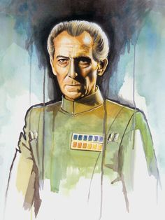 /by Brian Rood #starwars #art #watercolor