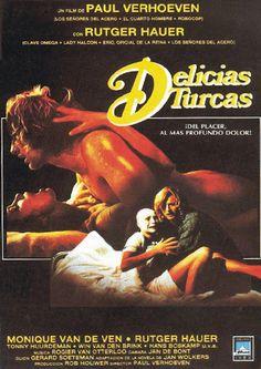 """""""Delicias Turcas"""" (Turks Fruit, 1973) película Holandesa dirigida por Paul Verhoeven y protagonizada por Rutger Hauer y Monique Van de Ven, entre otros. Basada en la Novela de Jan Wolkers, del mismo nombre, publicada en 1969. Fue considerada la mejor película holandesa del siglo, en el Festival de Cine de los Países Bajos de 1999."""