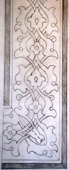 Greek – Art and Literature Pattern Art, Pattern Design, Art Nouveau, Stencils, Islamic Patterns, Turkish Art, Stencil Designs, Calligraphy Art, Tile Art