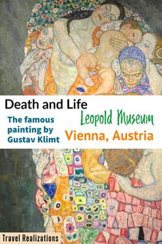 Before I go on to describe this fascinating painting, I must thank Leopold Museum, which allowed me to photograph the famous painting. I have always perceived death as the boundless, formless, infinite, eternal, undivided, unmoved, and unchanging Reality. Klimt made my perception alive on his canvas. #Painting #GustavKlimt #Klimt #TravelVienna #CultureTravel #Paintings #Art Europe Travel Guide, Travel Plan, Travel Tips, European Destination, European Travel, Austria Travel, Gustav Klimt, Photo Essay, Future Travel