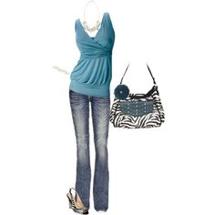 """""""Wild About Teal"""" by julie-carter on Polyvore"""