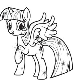 The Best My Little Pony Coloring Pages Princess Twilight Sparkle