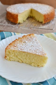 Simple Olive Oil Lemon Cake, a light and citrus-y recipe perfect for Mother's Day http://www.shebakeshere.com/2014/05/simple-lemon-olive-oil-cake.html