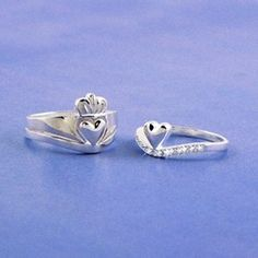 Sterling Silver Cupla Claddagh Ring