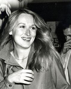 1980: Meryl Streep at an Academy Awards pre-party.
