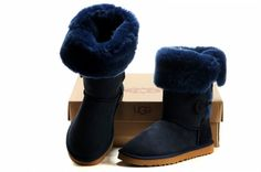 Looove the color! UGG Women's Bailey Button Triplet 1873