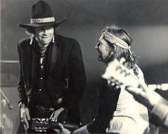 Willie Nelson and David Allen Coe