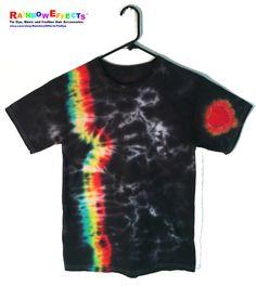 Rainbow Night  Tie Dye Tshirt  100 Cotton by RainbowEffectsTieDye, $12.50