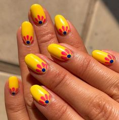 21 Ways to Make A Stylish Fall Nail Art Design - Beautifus Simple Nail Art Designs, Fall Nail Designs, Beautiful Nail Designs, Beautiful Nail Art, Easy Nail Art, Yellow Nails, Purple Nails, White Nails, Fabulous Nails