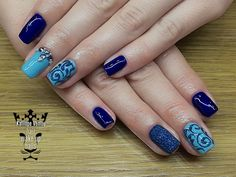 Blue nails  #nails💅 #nailart #bluenails #suggareffect #swarovskicrystals #nailsoftheday #beauty #elegance #fashion #fashionista #naildesing #fotooftheday📷💕 #nail2inspire #nailpolish #nailsoftheday #nailsalon #trustthexperts #beautymakesmehappy  www.kalliopeveniou.gr