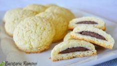 Galletas Cookies, Cookie Recipes, Biscuits, Food And Drink, Ice Cream, Yummy Food, Sweets, Bread, Cooking