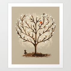 Catch in LOVE Art Print by Steven Toang - $18.00