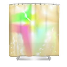 The Digital Abstract Art By Ron Labryzz Shower Curtain featuring the digital art Crux by Ron Labryzz