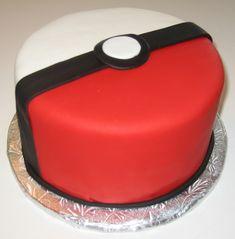 Pokeball cake | CakeGirlKC | Flickr
