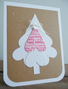 kerstboom van hartjes