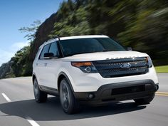 The 2013 Explorer Sport will be the only Explorer offered with Ford's twin-turbocharged, EcoBoost Ford says the engine will make at least 350 horsepower in Explorer Sport trim. Read more about the 2013 Ford Explorer Sport from Motor Trend. 2014 Ford Explorer Sport, Ford Explorer Reviews, Sport One, Ford News, Best Luxury Cars, Unique Cars, Latest Cars, Ford Motor Company, Car Wallpapers