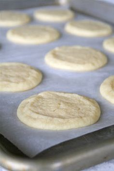 Slice 'n Bake Chewy Sugar Cookies--1 bowl, super simple to throw together and they come out perfect EVERY time!!