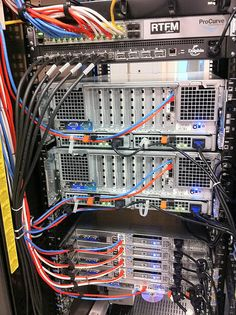 Structured Cabling in Los Angeles and Data Center Performance Solutions - United Cabling Router Switch, Network And Security, Structured Cabling, Network Monitor, Network Infrastructure, Server Rack, Computer Build, Old Computers, Home Technology
