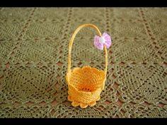 Czytanie szydełkowych schematów - podkładka - wykonanie - YouTube Easter Crochet, Straw Bag, Diy And Crafts, Crochet Patterns, Clay, Youtube, Crocheting, Applique Templates, Craft