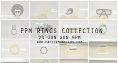 Launching Ring Collection on 26/6 SUN 9PM FB Giveaway: http://www.facebook.com/media/set/?set=a.318737418213270.74540.116028281817519=1    by: Labella.sg