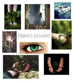 """Blake's powers"" by ibunnypines ❤ liked on Polyvore featuring art"
