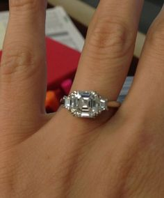 Show me your three-stone rings! - Weddingbee   Page 3