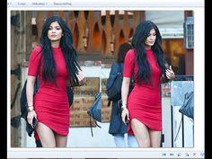 DIY Kylie Jenner Red Dress