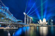 Light show...