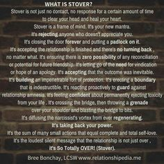 Stover (So Totally Over)