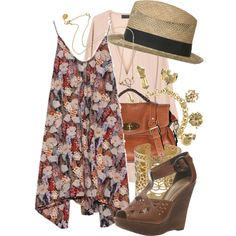 """""""spring boho"""" by thechanel on Polyvore"""