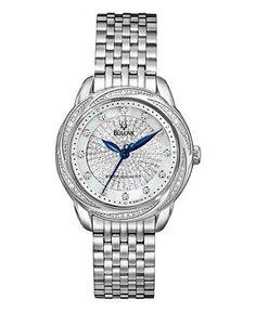 Bulova Watch, Women's Precisionist Diamond