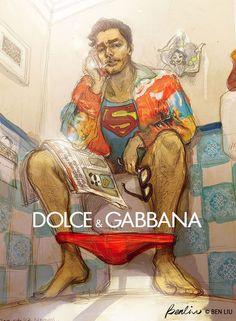 Artistas misturam Quadrinhos e Moda - http://modaparahomens.com.br/