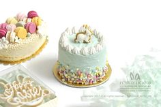 2017, Spring Easter Cake♡ ♡ by Petit D'licious