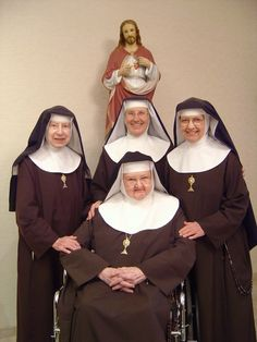 Mother Angelica and her sisters