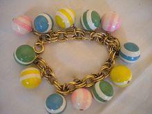 Croquet Ball Dangle Bracelet