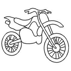 motorbike template for cake - classic road motorcycle coloring page hudson 39 s party