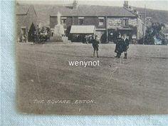 1900s Postcard The Square,Shaws Tearooms, Eston Yorkshire | eBay