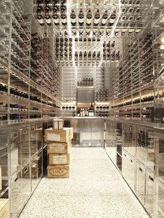 Modern Pacific Heights, Modern Wine Cellar, San Francisco