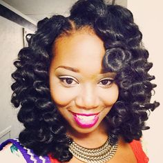 ... created with Crochet Braids. Pinterest Lotion, Curls and Curl p