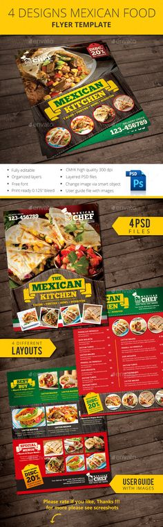 TriFold Food Menu  Food Menu Template Food Menu And Menu Templates
