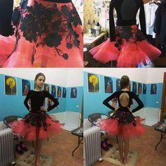 Наверно самое спонтанное платье в моей практике Спасибо маме за помощь в его реализации! #winner #latindress #бальноеплатье #латина #пошивкостюмов #юниоры1