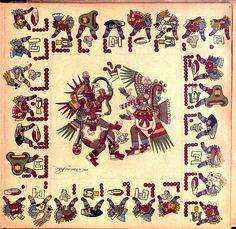 --Page 22--   Codex Borbonicus (Loubat 1899)