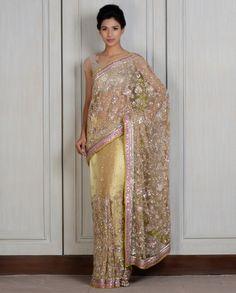 Manish Malhotra New Saree Collection 2014 (8)