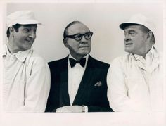 Jack Benny, Bob Hope and Danny Thomas Funny Guys, Funny Men, Funny People, Danny Thomas, Marlo Thomas, Jack Benny, Bob Hope, Lights Camera Action, Thanks For The Memories