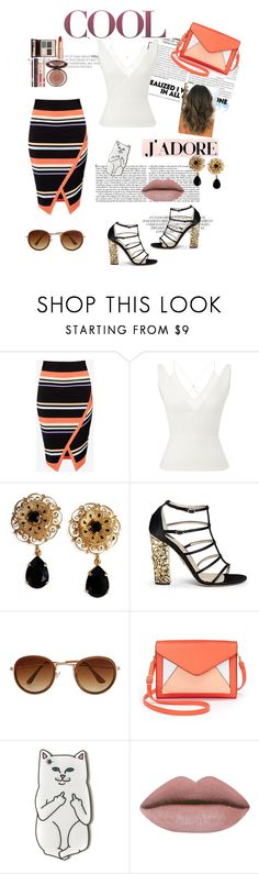 """""""Viviane"""" by berthelot-alx ❤ liked on Polyvore featuring Ted Baker, Roland Mouret, Dolce&Gabbana, Paul Andrew, Apt. 9 and Charlotte Tilbury"""