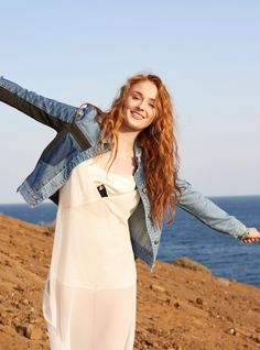 'Game of Thrones' and 'X-Men: Apocalypse' star Sophie Turner graces the summer 2016 cover of ASOS Magazine, looking casual chic in a bomber jacket and ripped denim. Inside the magazine, the actress poses for Colin Leaman in the glossy spread. Sophie wears a mix of embellished tops, slip dresses and lightweight jackets for the seaside …