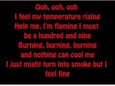 Elvis Presley-Burning love lyrics