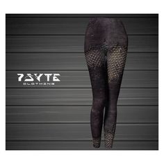 Steampunk Leggings, Cyberpunk, Festival Clothing, Chain mail,... ($79) ❤ liked on Polyvore featuring pants, leggings, destroyed leggings, distressed leggings, ripped leggings, torn leggings and ripped pants